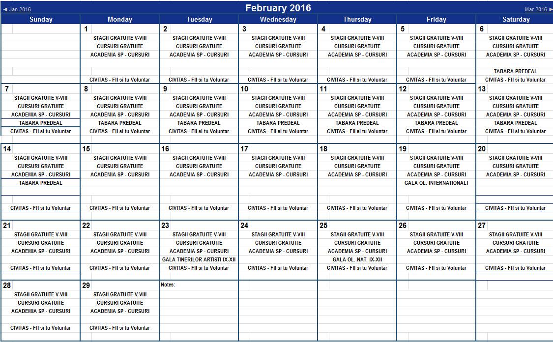 februarie